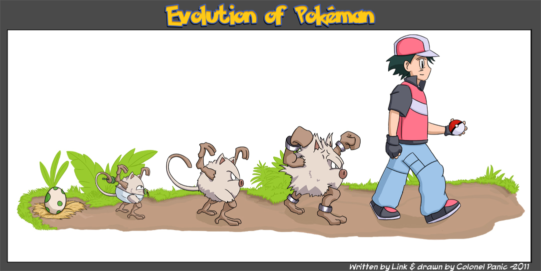 It's Evolution, Baby...