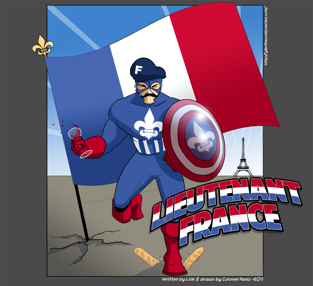 Comics from the Multiverse: Lieutenant France